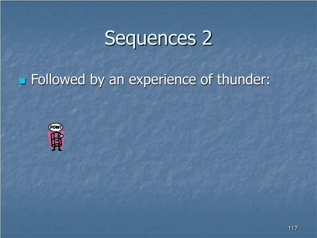 Sequences 2