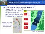 bpr 20 standard locking procedures1
