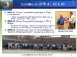 updates on bpr 1 2 3