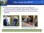 why create the imts