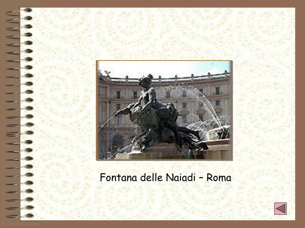 Fontana delle Naiadi – Roma