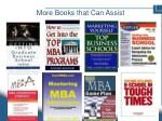 more books that can assist