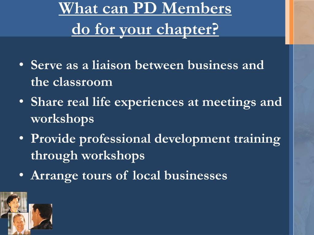 What can PD Members