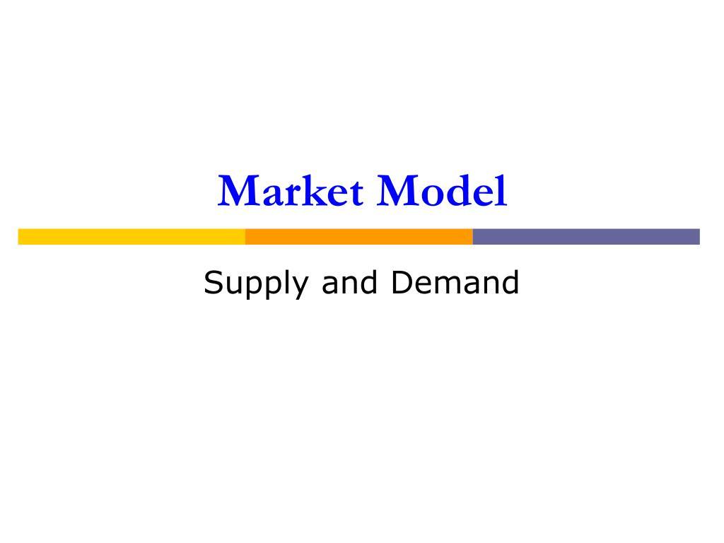 market model