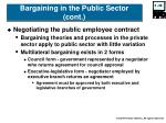 bargaining in the public sector cont39