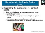 bargaining in the public sector cont40