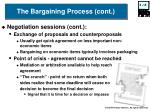 the bargaining process cont15