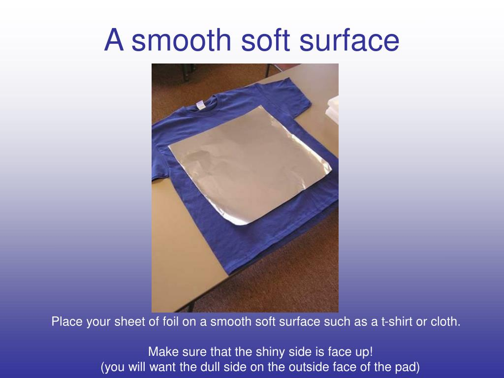 A smooth soft surface