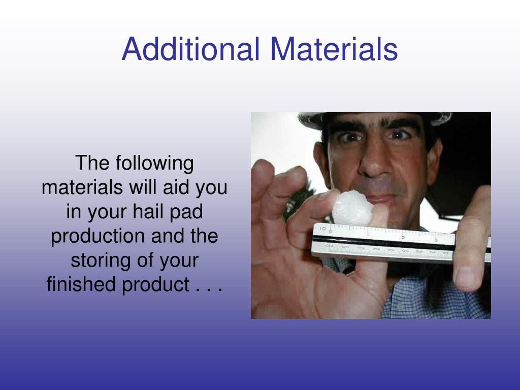 Additional Materials