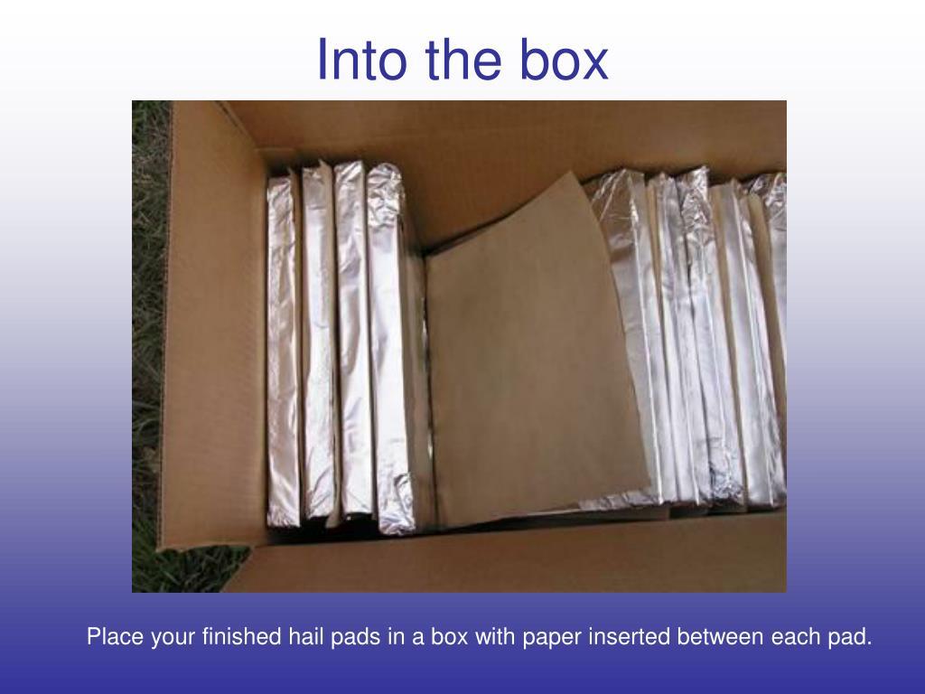 Into the box