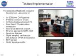 testbed implementation