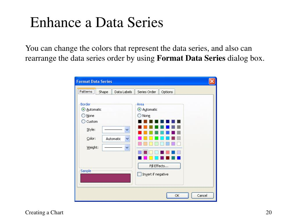 Enhance a Data Series