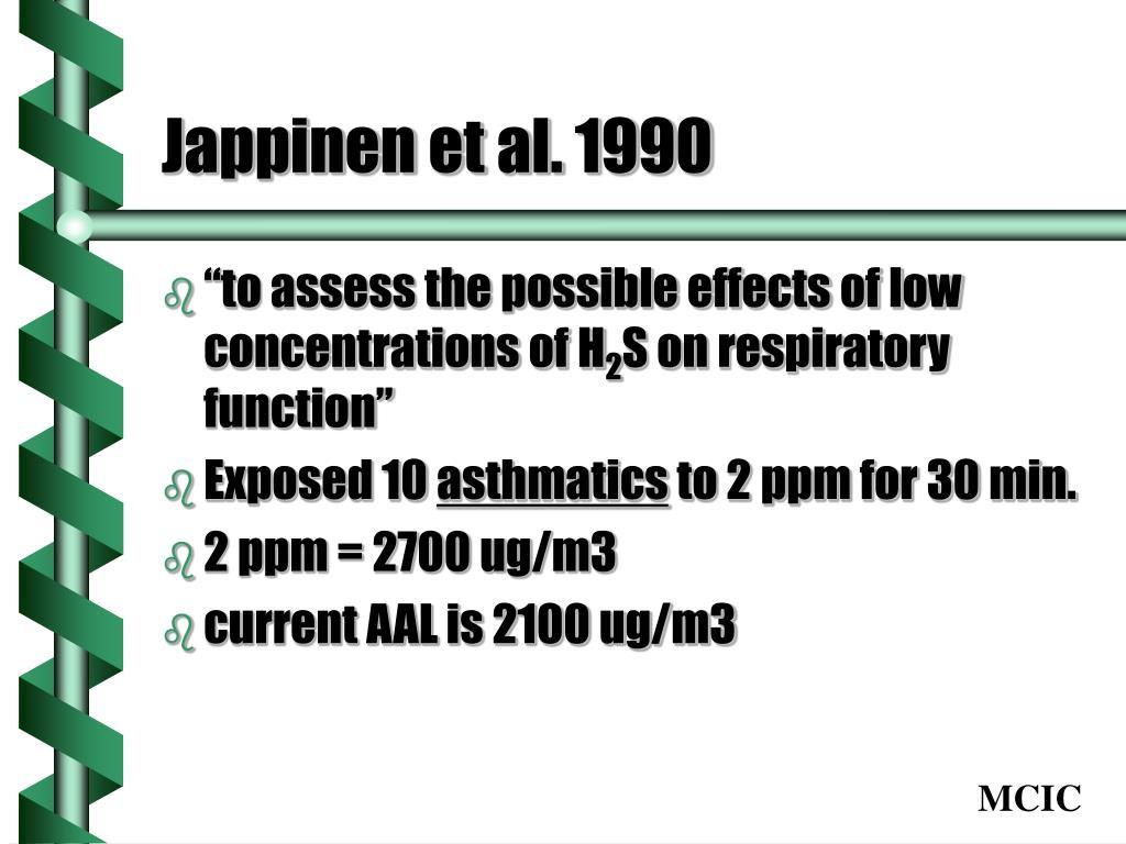Jappinen et al. 1990