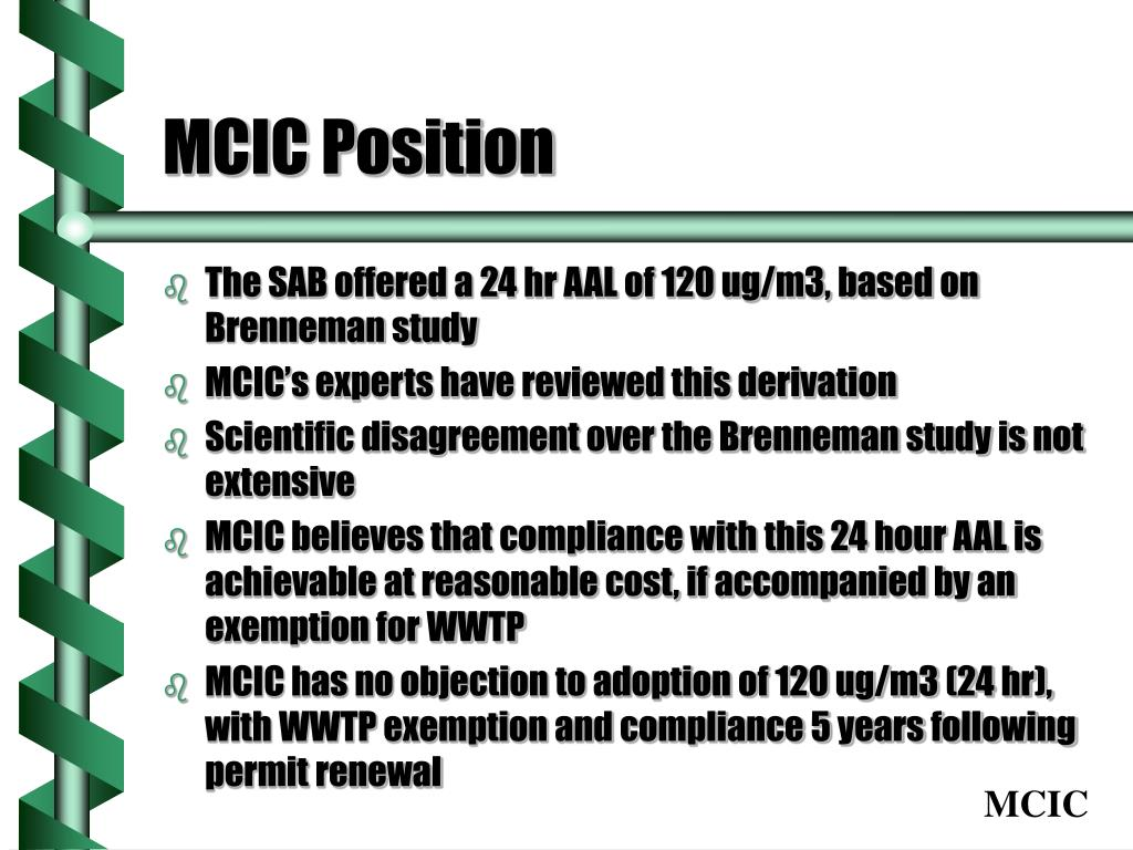 MCIC Position