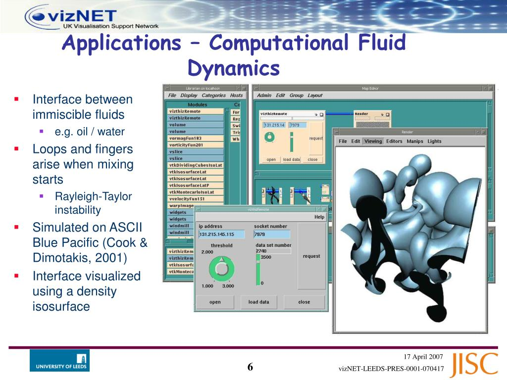 Interface between immiscible fluids
