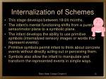 internalization of schemes