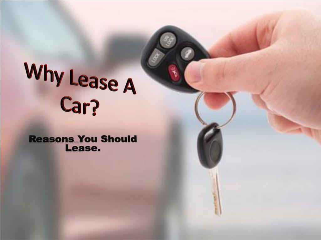why lease a car