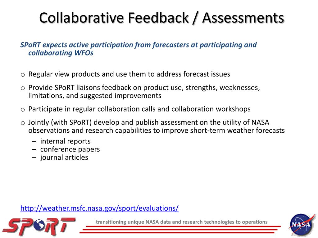 Collaborative Feedback / Assessments