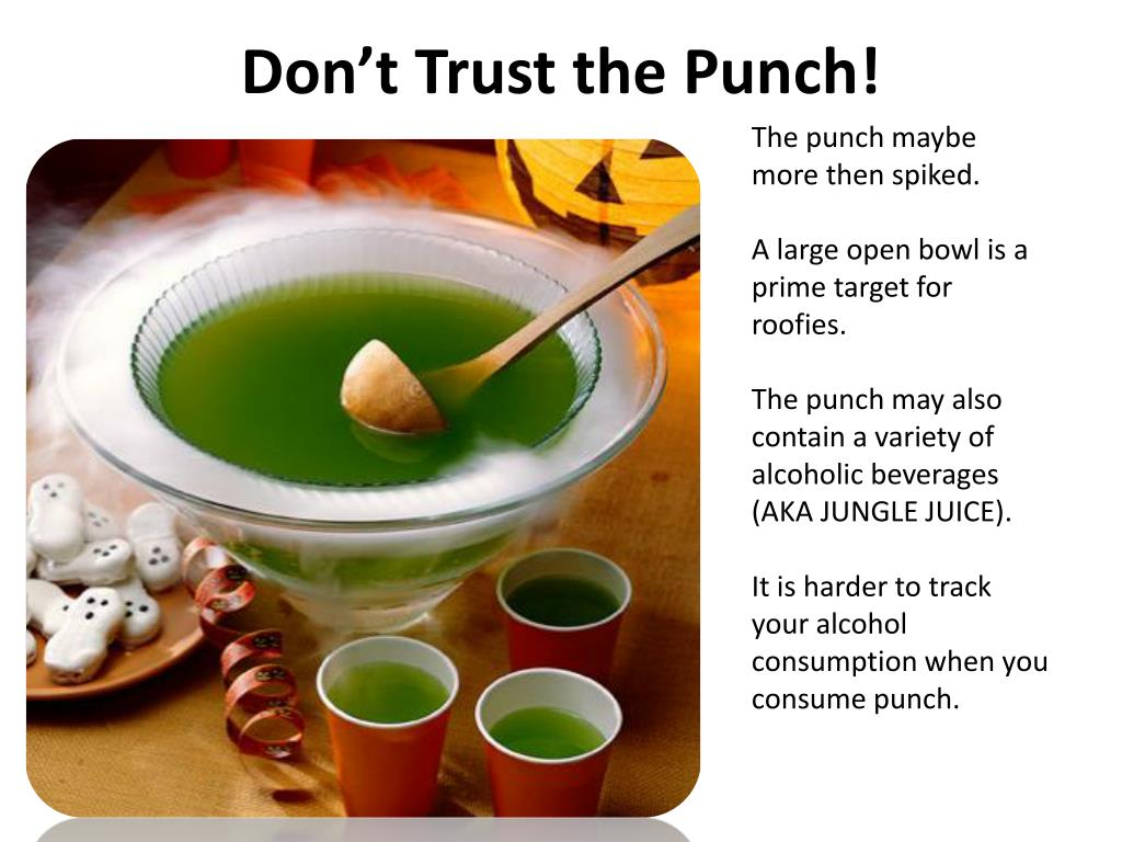 Don't Trust the Punch!