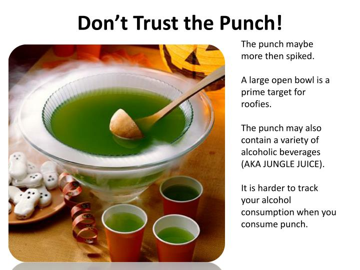 Don t trust the punch l.jpg