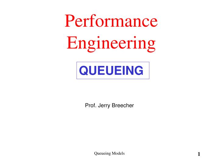Performance engineering l.jpg