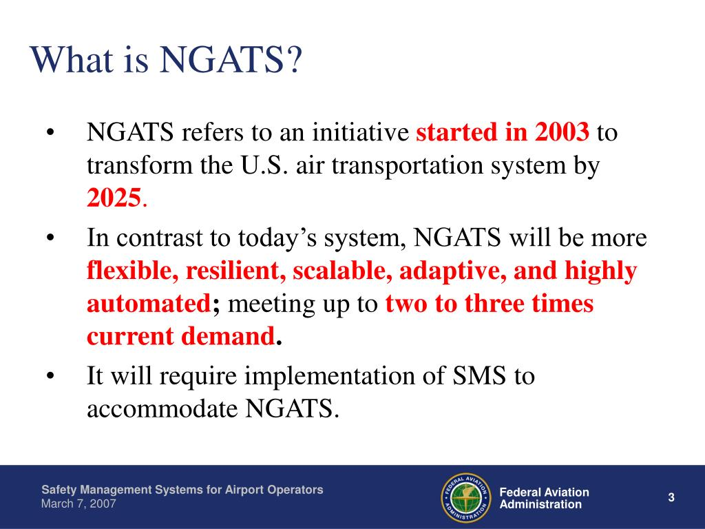 What is NGATS?