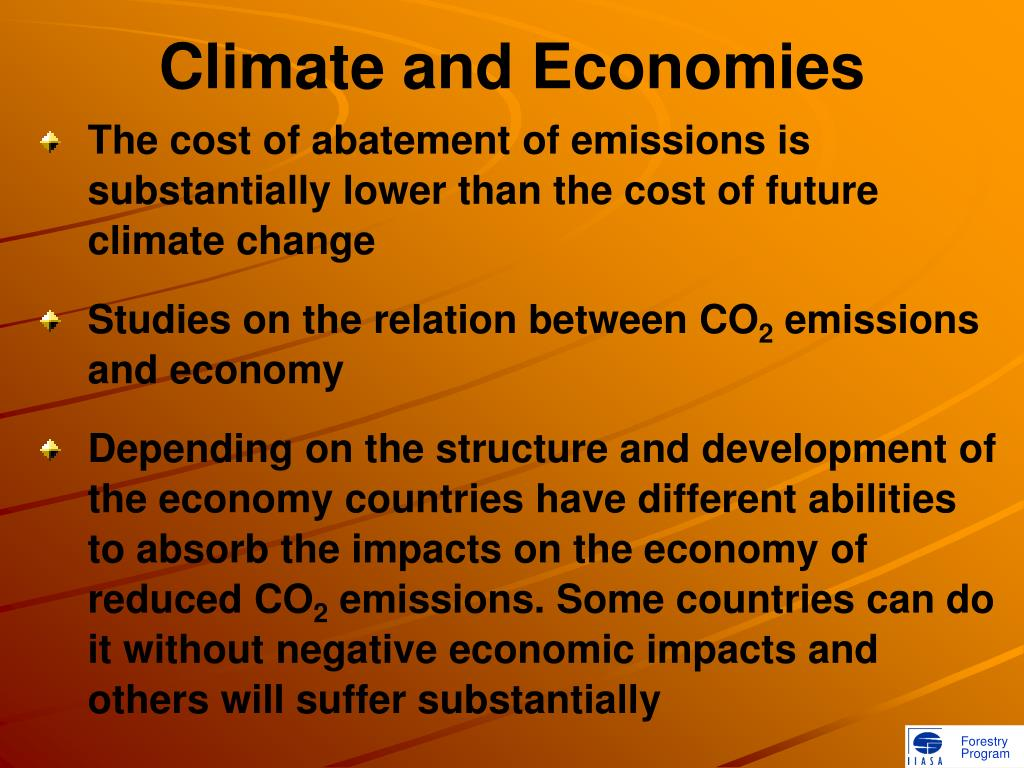 Climate and Economies