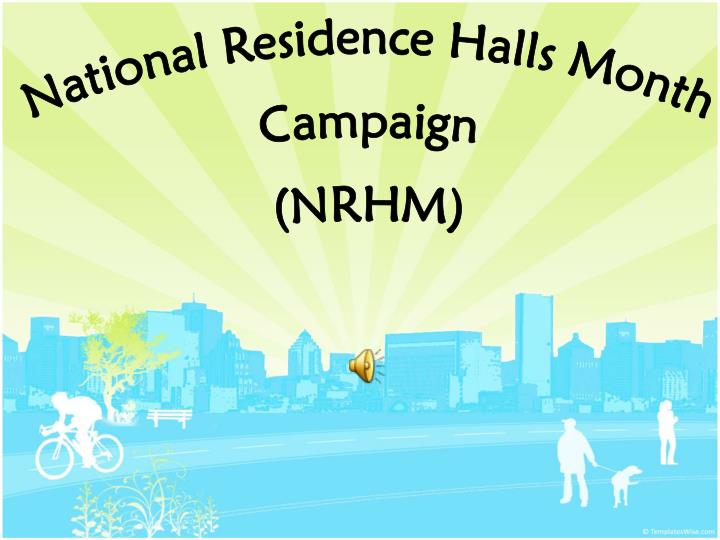 National Residence Halls Month