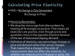 calculating price elasticity