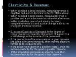elasticity revenue