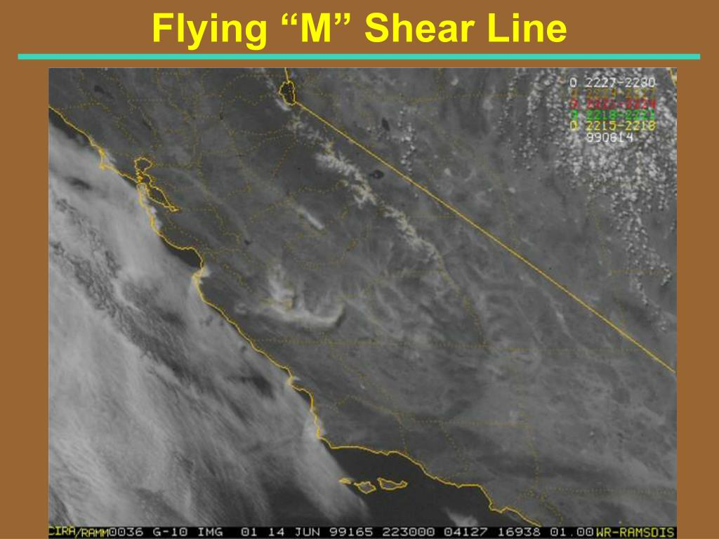 "Flying ""M"" Shear Line"