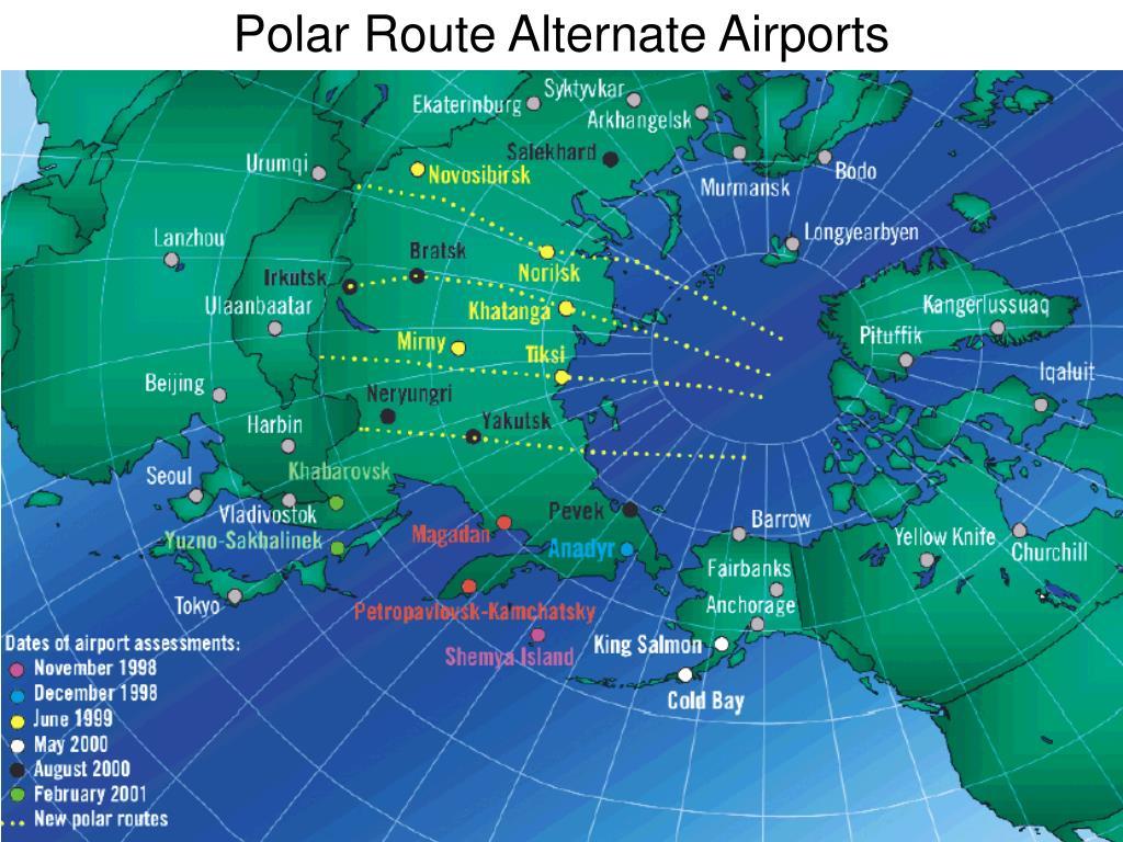 Polar Route Alternate Airports