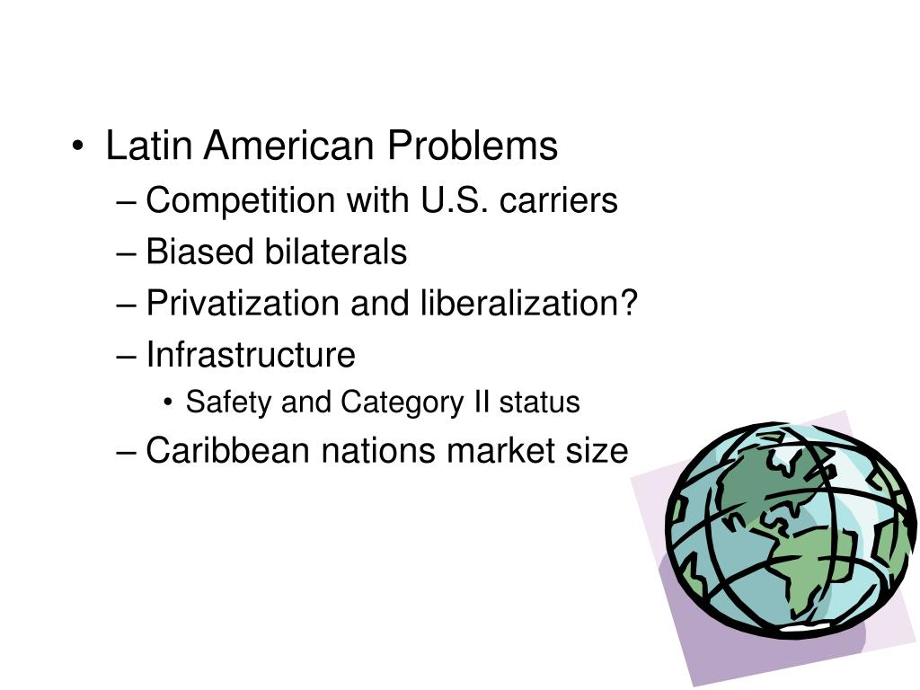 Latin American Problems