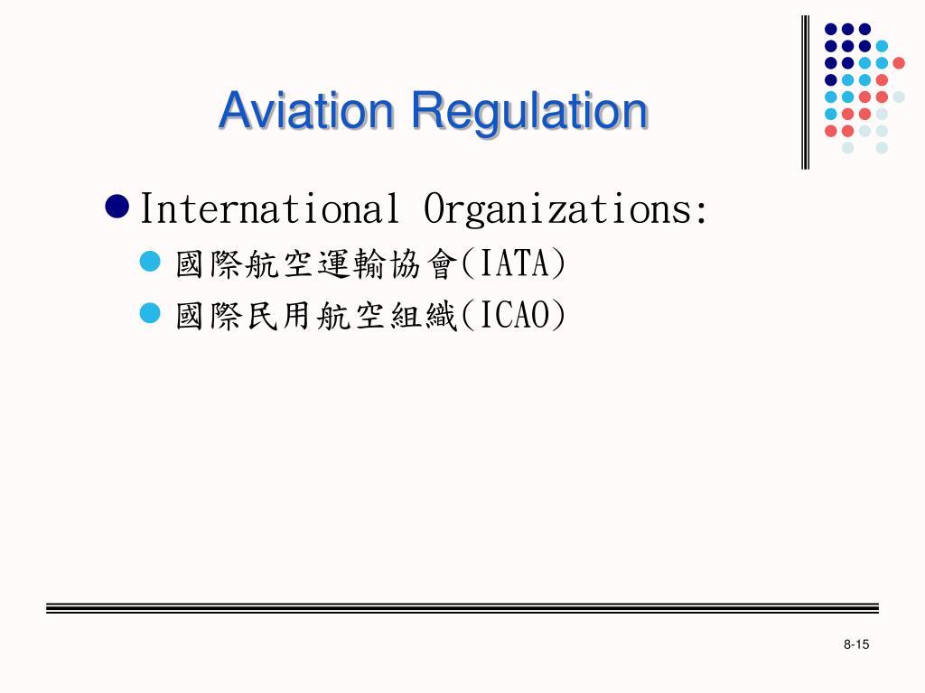 Aviation Regulation