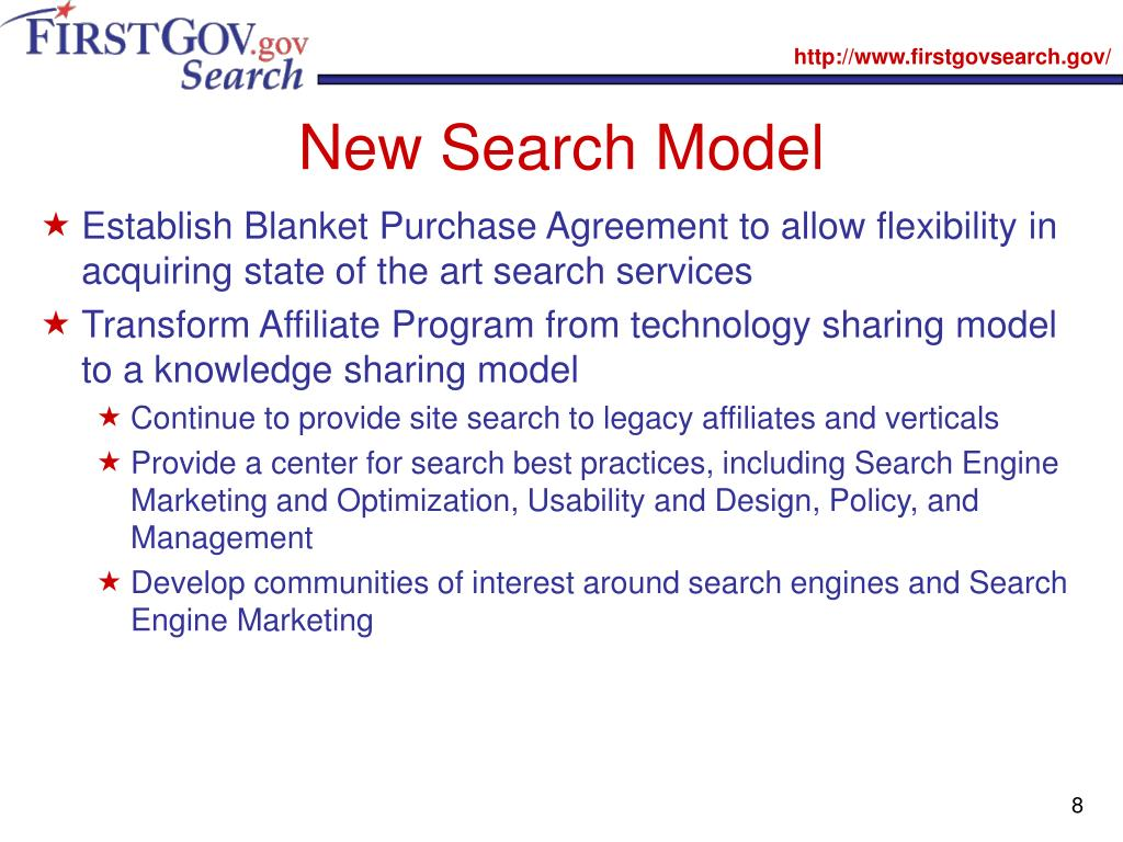 New Search Model