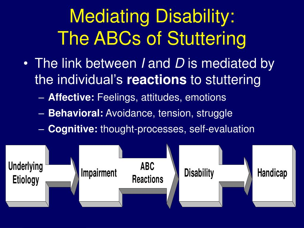 Mediating Disability: