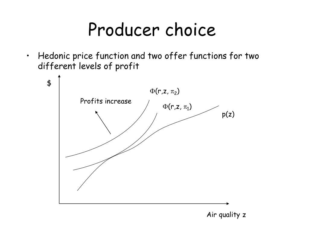Producer choice