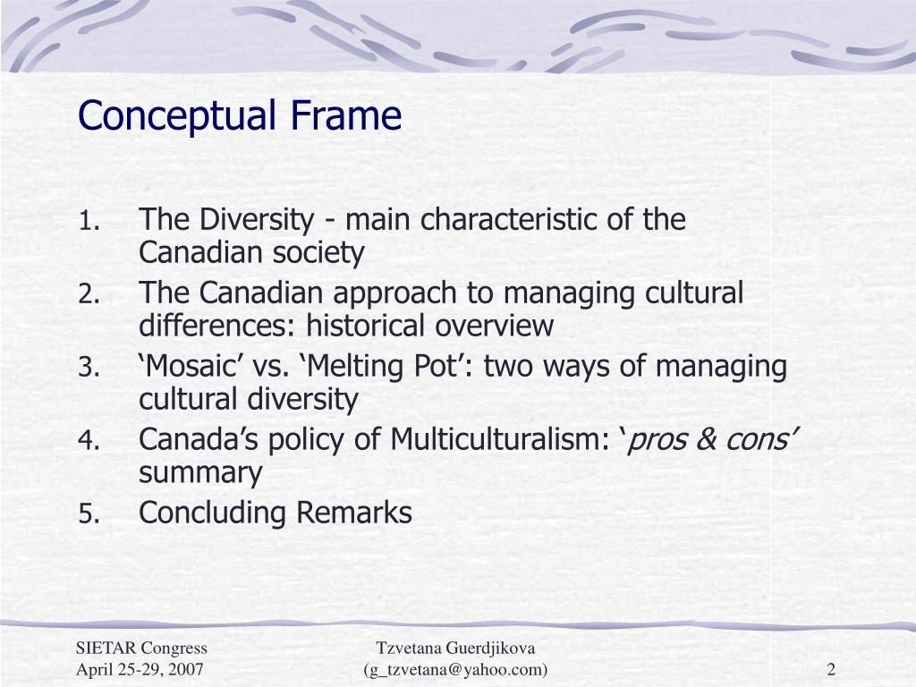 Conceptual Frame
