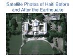 satellite photos of haiti before and after the earthquake