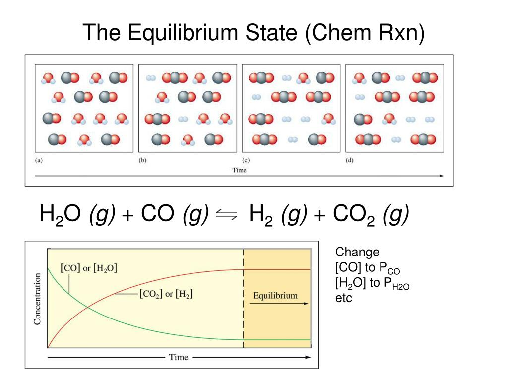 The Equilibrium State (Chem Rxn)