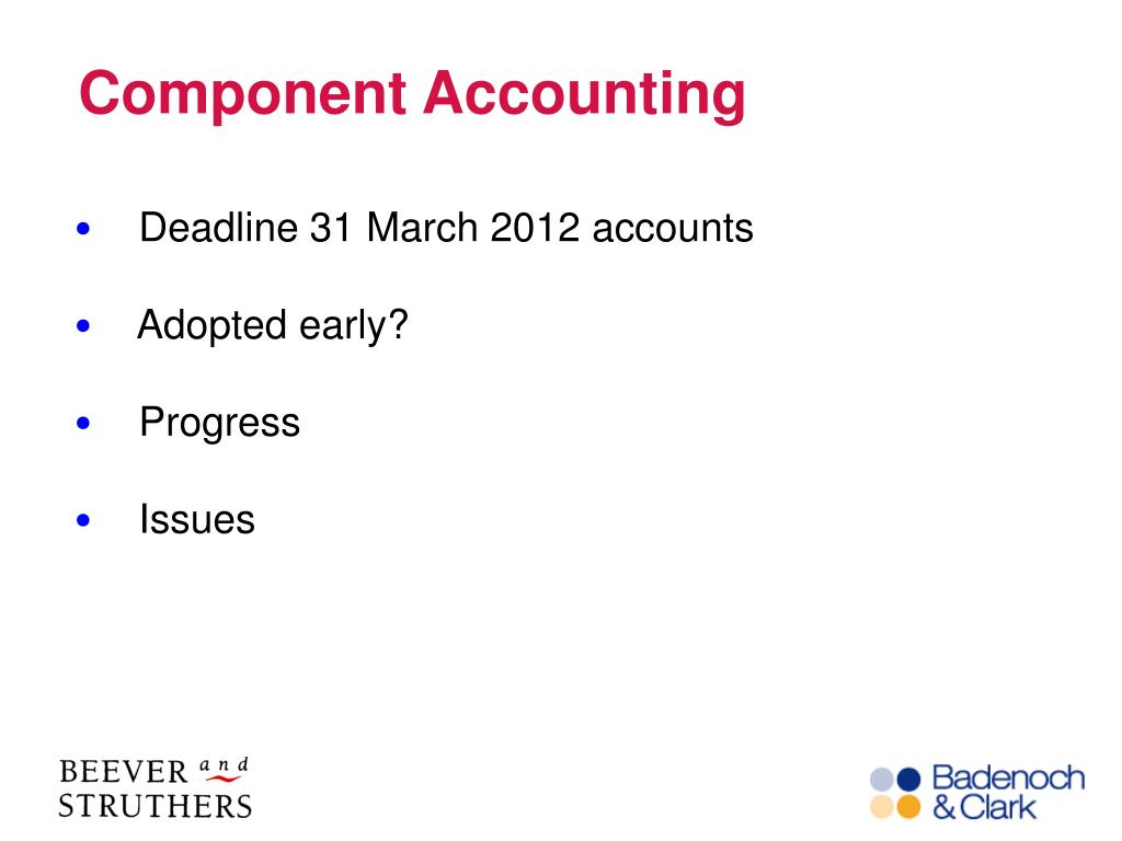 Component Accounting