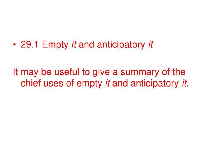 29.1 Empty