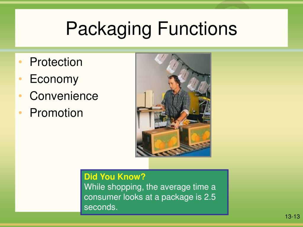 Packaging Functions