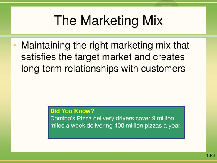 The marketing mix l.jpg