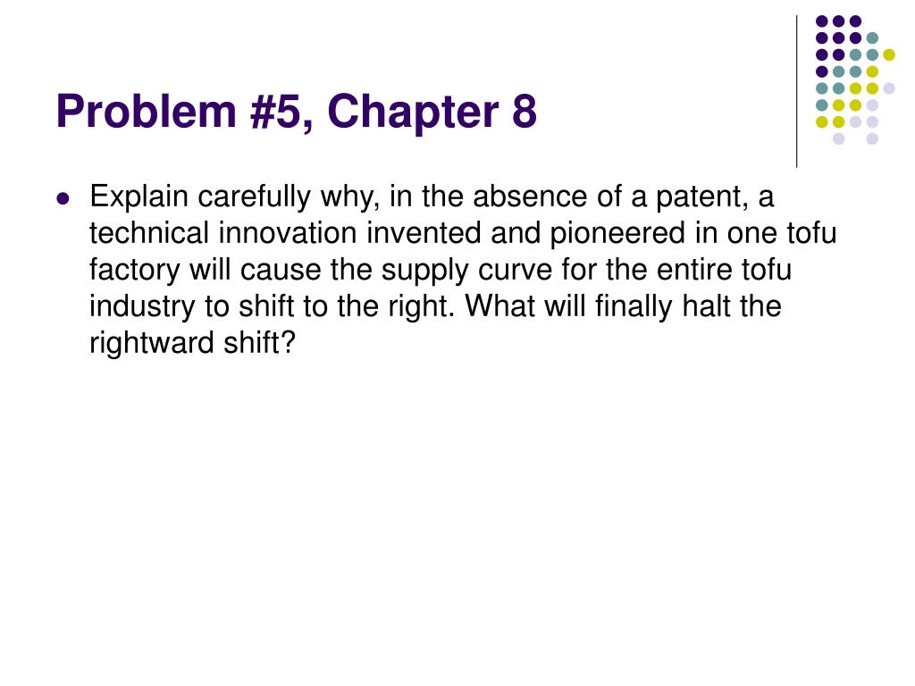 Problem #5, Chapter 8