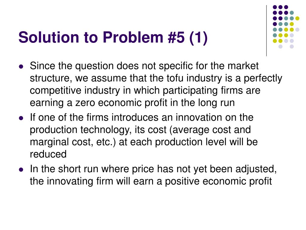 Solution to Problem #5 (1)