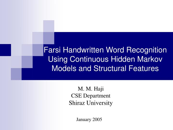 Farsi handwritten word recognition using continuous hidden markov models and structural features l.jpg