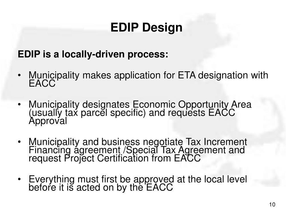 EDIP Design