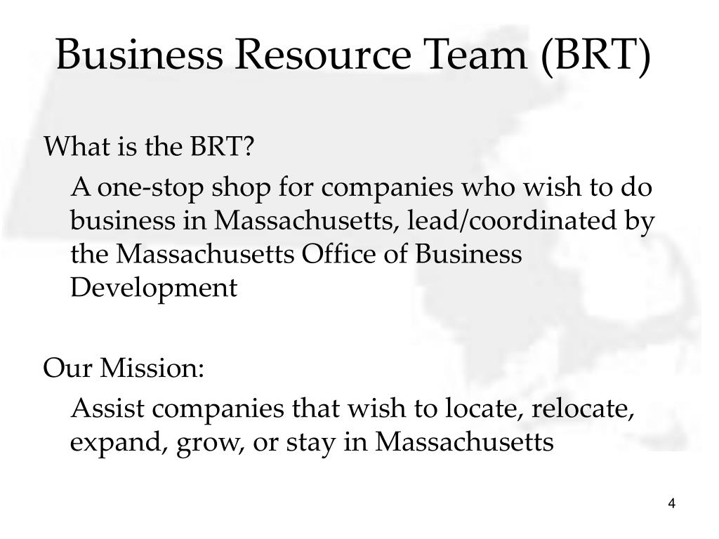 Business Resource Team (BRT)