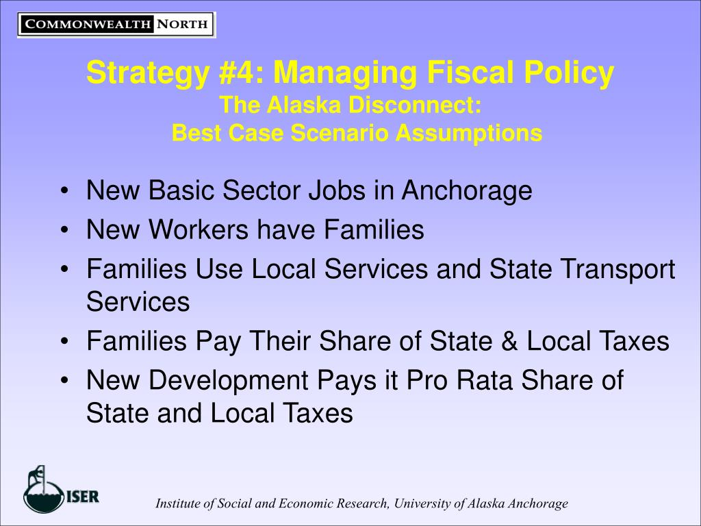 Strategy #4: Managing Fiscal Policy